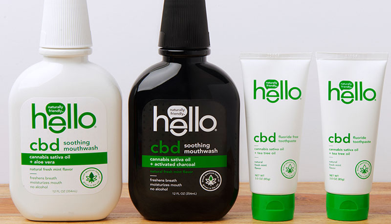 Hello has a line of CBD mouthwash products. Start using them right away to protect from being infected by the coronavirus