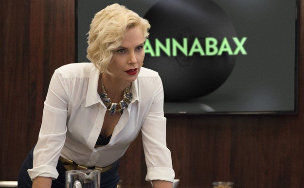 Charlize Theron's mom was her weed supplier